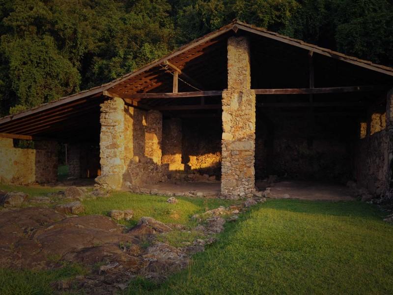 Engenho dos Erasmos, ruínas, Santos